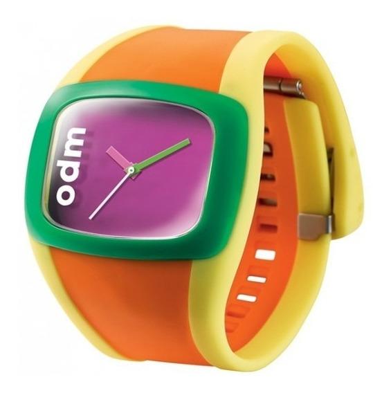 Relogio Pulso Odm Ii Watch Multicolor Fashion Rosa