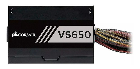 Fonte Corsair 650w 80 Plus White Vs650 - Cp-9020172-ww