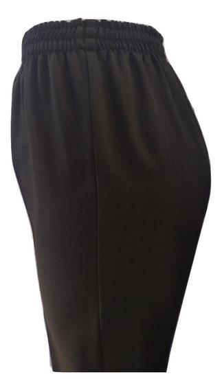 3 Pantalones De Vestir Con Resorte, Mujer, Varios Colores.