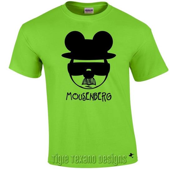 Playera Dibujo Animado Mickey Mouse M.6 Tigre Texano Designs