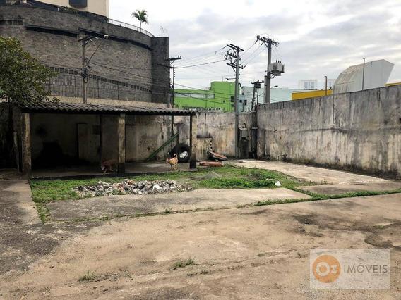 Terreno Para Alugar, 870 M² Por R$ 3.900/mês - Centro - Osasco/sp - Te0001