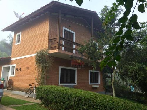 Chácara Com 3 Dormitórios À Venda, 2490 M² Por R$ 1.150.000,00 - Caceia - Mairiporã/sp - Ch0337