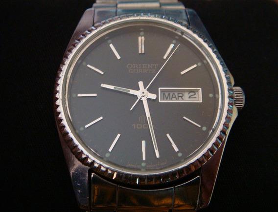 Bonito Reloj Orient Quartz Vintage Años 80´s.