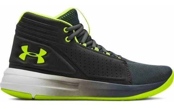 Tenis Under Armour Niños Negro Bgs Torch 3020428103
