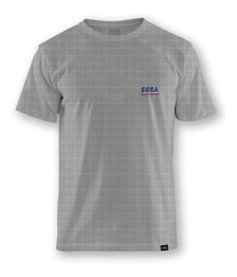 Camiseta Cinza Sega Master System® Logo - 3g