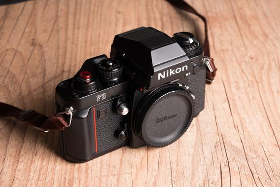 Nikon F3 Com Acessórios - Impecável