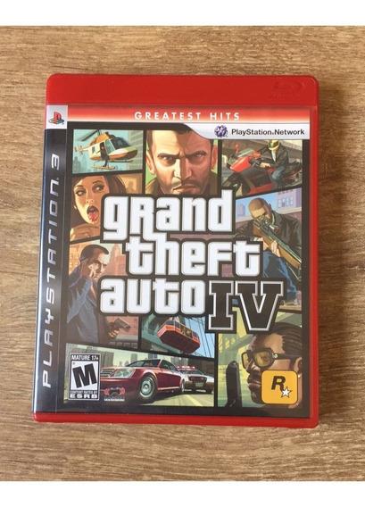 Jogo Para Ps3 Grand Theft Auto Iv Lacrado-pronta Entrega