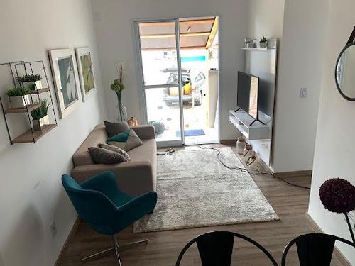 Imagem 1 de 22 de Apartamento Com 2 Dormitórios À Venda, 52 M² Por R$ 189.900,00 - Parque São Vicente - São Vicente/sp - Ap10757