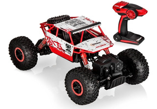 Top Race Control Remoto Rock Crawler, Rc Monster Truck 4wd,
