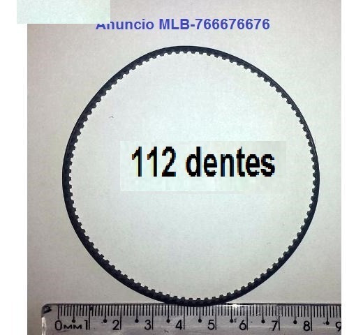 Intelbras Vsd-500 112 Dentes Correia Pan Speed Dome