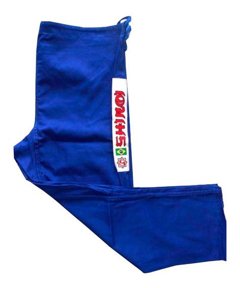 Calça Jiu Jitsu Branca Azul Ou Preta Especial Avulsa Shiroi