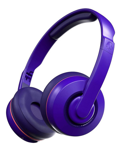 Auriculares Cassette Wireless On-ear Retro Purple