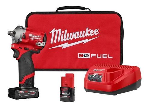 Llave Impacto 1/2  M12 4/2amp Fuel 2555-22 Milwaukee