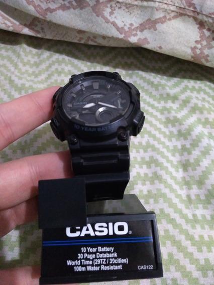 Relógio Casio Aeq110w-1av - Original