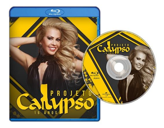 Blu-ray Projeto Calypso 16 Anos Vol. 1 *joelma