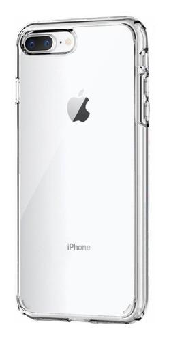 Estuche Funda Forro Para iPhone 7 Plus Transparente Rígido