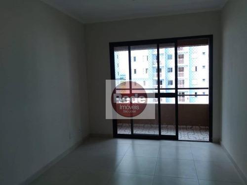 Apartamento À Venda, 67 M² Por R$ 266.000,00 - Monte Castelo - São José Dos Campos/sp - Ap0617