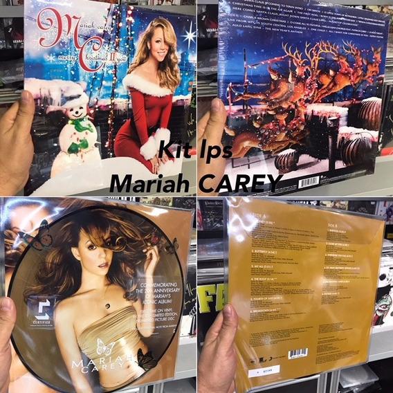 Kit Lp Mariah Carey Butterfly E Merry Christmas Ii You Vinyl
