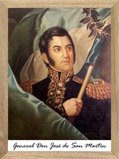 José De San Martín Cuadros Posters Carteles M046