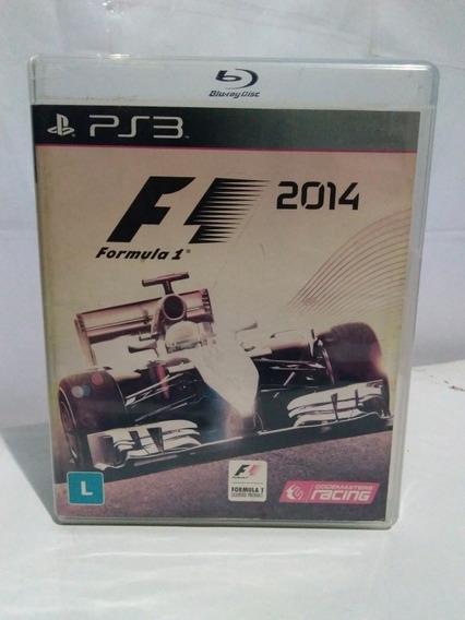 Jogo Fórmula 1 2014 F1 Ps3 Mídia Fisica Completo R$99,90