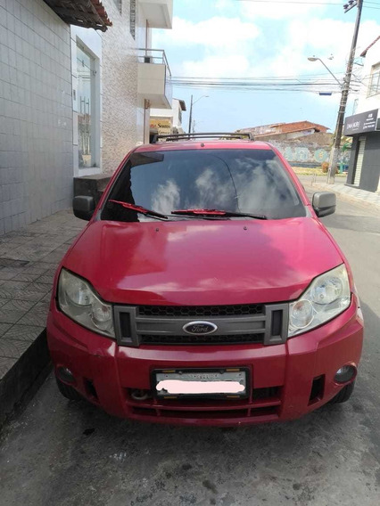 Ford Ecosport 1.6 Xlt Freestyle Flex 5p Vermelho