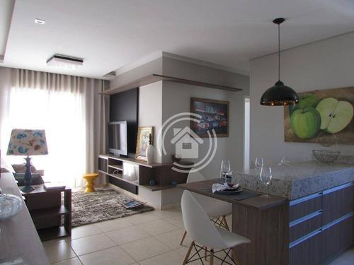 Apartamento Com 2 Dormitórios À Venda, 58 M² Por R$ 170.300,00 - Santa Terezinha - Piracicaba/sp - Ap0742