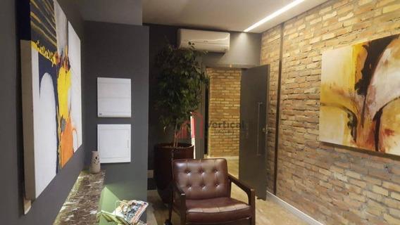 Sala Para Alugar, 104 M² Por R$ 7.000,00/mês - Tatuapé - São Paulo/sp - Sa0546