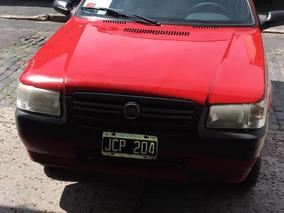 Fiat Uno 1.3 Fire 3 Ptas 2010 Rojo Unico Dueño $ 45000 Cont
