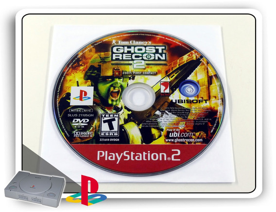 Tom Clancys Ghost Recon 2 Original Playstation 2 Ps2