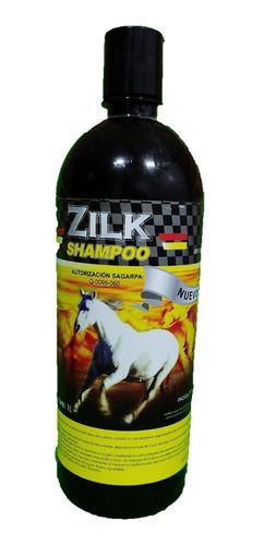 Shampoo Para Caballos Zilk Natural 1 Litro Farmatec