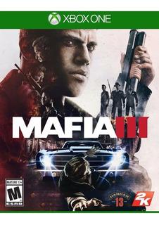 Mafia 3 Fisico Xbox One Juego Impecable