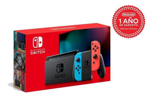 Nintendo Switch Neon 32gb Nueva Versión 2019 Envío Gratis