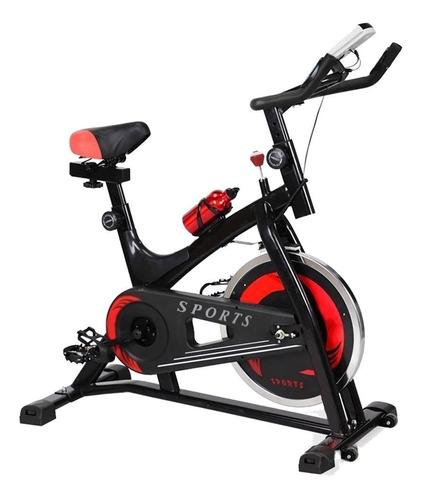 Imagen 1 de 3 de Bicicleta fija Centurfit MKZ-CFBICI6KGNEG para spinning negra y roja