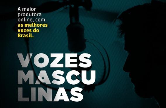 2 Audio Para Radio Voz Masculina Offs | Spots | Chamada