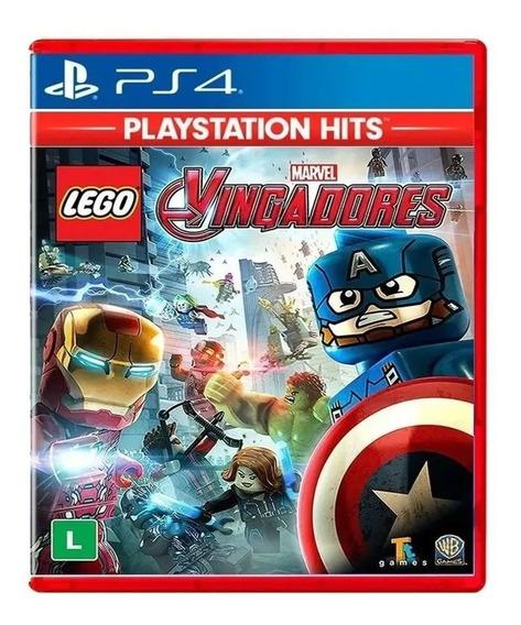 Lego Vingadores Ps4 Avengers Jogo Mídia Física Português