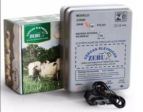 Eletrificador Cerca Rural 35 Km Zebu Bateria Interna Z35nb