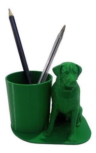 Imagem 1 de 2 de Cachorro Dog Porta Caneta Lápis Escritório Impressão 3d