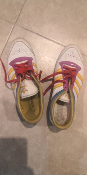 Zapatilla adidas Mujer Sleek Series Us 6 Y 1/2