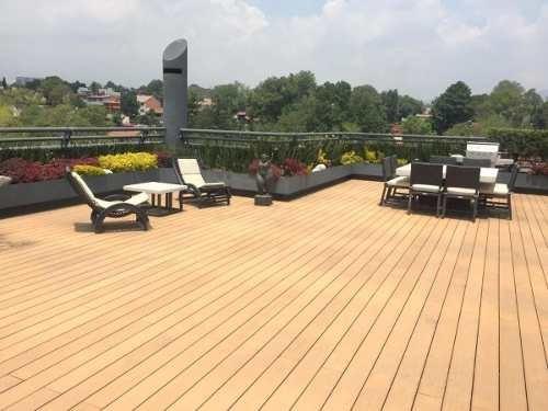 Ph En Renta Amueblado De 2 Niveles Y Roof Garden En Bosques De Las Lomas