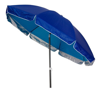 Sombrilla Jardin Playa Waterdog Resistente 2m Doble Armazon