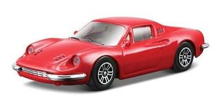Ferrari Coleccion Dino 246 Gt Bburago Escala 1:43 Diecast