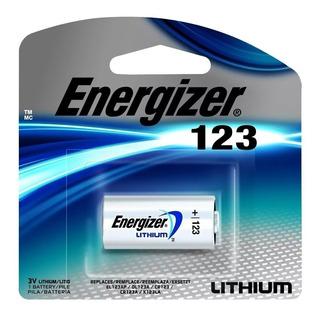 Pila Bateria Cr123 123 Litio Lithium-ion 3v Camara Flash