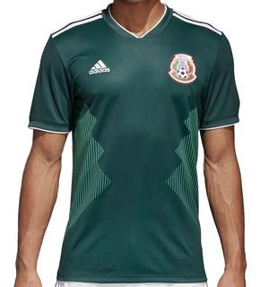 Playera Jersey Seleccion De Mexico Hombre adidas Bq4701