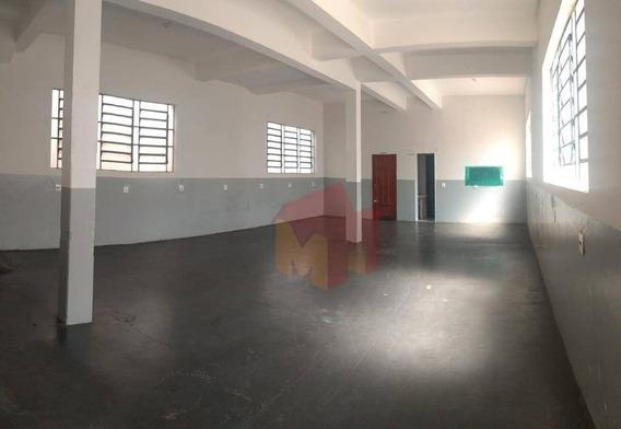 Salão Para Alugar, 160 M² Por R$ 2.000/mês - Vila Nossa Senhora De Fátima - Americana/sp - Sl0078
