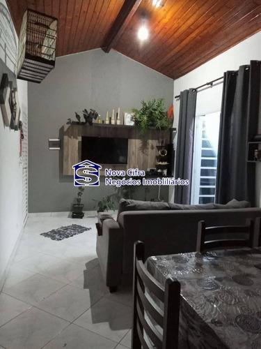 Imagem 1 de 9 de Casa 2 Dormitórios Reformada Em Condomínio Fechado - Vila Das Flores - C2055
