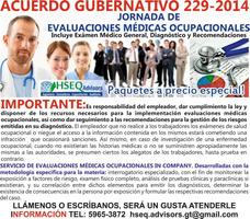 Evaluaciones Médicas Ocupacionales