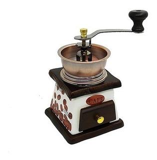 Molinillo Manual De Café Para Moler Granos Cafetera Moledor