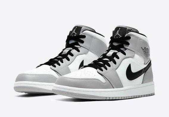 Jordan Mid Light Grey
