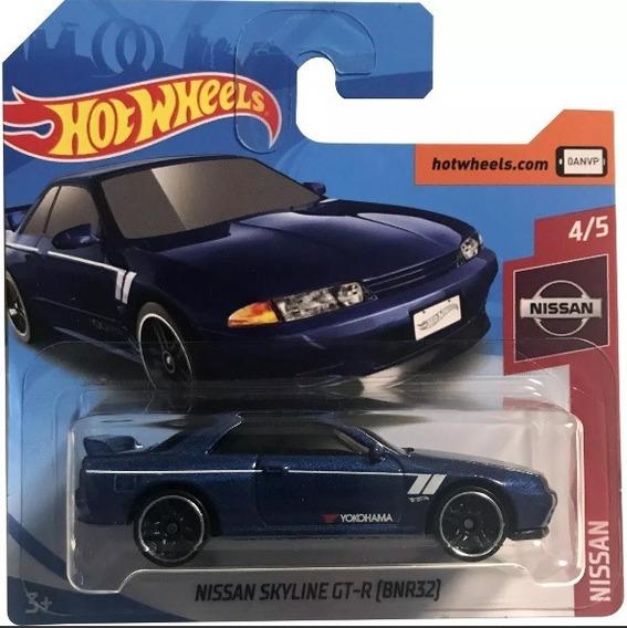 Miniatura Hot Wheels Nissan Skyline Gt-r (bnr32) !!!