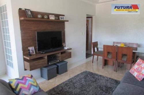 Casa Com 3 Dormitórios À Venda, 137 M² Por R$ 370.000,00 - Vila Nossa Senhora De Fátima - São Vicente/sp - Ca0427